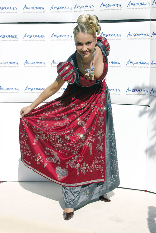 Swarovski Dirndl Dress Regina Deutinger